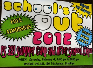 Image of PS 321 Summer Camp